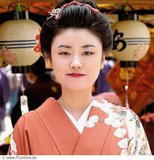 A geisha girl