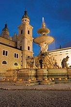 Österreich,Residenzplatz,Salzburg
