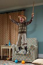 Junge - Person,jung,Kleidung,5-9 Jahre,5 bis 9 Jahre,Kostüm - Faschingskostüm,Verkleidung,Cowboy