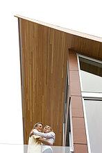 umarmen,Wohnhaus,Balkon,modern