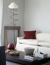 nahe,Lampe,Ansicht,Couch