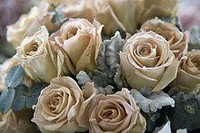 Detail von einem Blumenstrauß