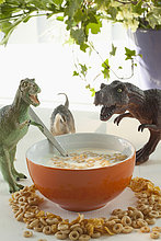 Getreide ,Spielzeug ,Dinosaurier