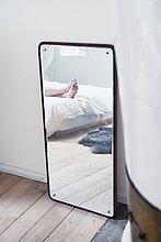 Mensch,Spiegelung,Schlafzimmer,Spiegel