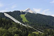 Ski-Sprungschanze, Olympiastadion, Garmisch-Partenkirchen, Werdenfelser Land, Oberbayern, Bayern, Deutschland, Europa