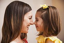 Europäer ,lächeln ,Tochter ,Mutter - Mensch