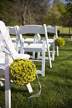 Stuhl ,Blume ,Hochzeit ,Zeremonie