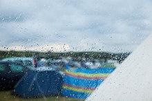 Regen ,camping