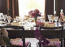 Tisch für Hochzeitsempfang