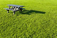 leer ,Picknick ,Gras ,Tisch