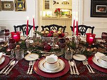 Lifestyle,Dekoration,Kosmopolit,Atmosphäre,Weihnachtstisch
