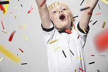 Junge - Person,jubeln,Fußball