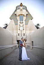 Brautpaar in Las Vegas, USA