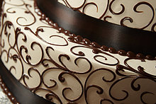 Dekoration ,Kuchen ,Schokolade ,Close-up, close-ups, close up, close ups ,Sahne