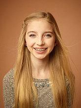 Porträt von Teenagerin