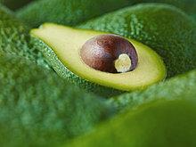 hoch, oben ,nahe ,extrem ,Avocado ,aufgeschnitten