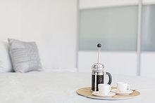 Tasse ,französisch ,Schlafzimmer ,Kaffee ,Pressewesen, Presse