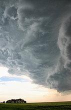 Vereinigte Staaten von Amerika,USA,Wolke,über,Sturm,dramatisch,Feld,Nebraska