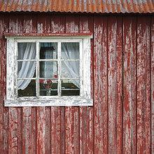 Alter Rorbu oder Fischerhütte, Moskenesøya, Lofoten, Norwegen