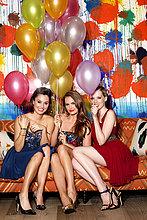 Freundschaft,Party,Luftballon,Ballon,3,Schönheit