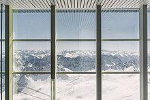 Fenster,Ansicht,Zugspitze,Bayern,Deutschland