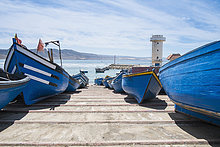Rampe,Boot,Dock,blau