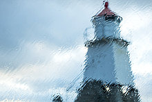 sehen,Fenster,Regen,Leuchtturm,Norwegen
