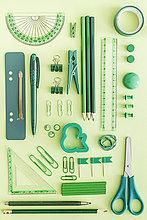grün,Hintergrund,Büro,Gegenstand
