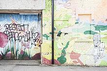 Wand,Graffiti