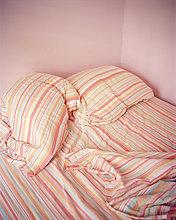 pink,Streifen,Kissen