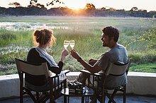 Wein,Sonnenuntergang,Produktion,Lodge,Landhaus,Safari,Toastbrot