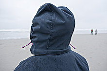 Strand,nass,Mensch,Kapuze