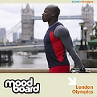 London themed elite sports images alongside generic  studio and location portraits including sprint, soccer, fencing, paraolympics, cycling, athletics, boxing, gymnastics, swimming and sailing.