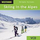 Skifahren und,in traumhafter sonniger,in den Alpen. Entspannte Zwischenstopps,der Skihütte.