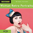 Das etwas andere Portrait einer jungen Frau: Witzig, retro, burlesque.