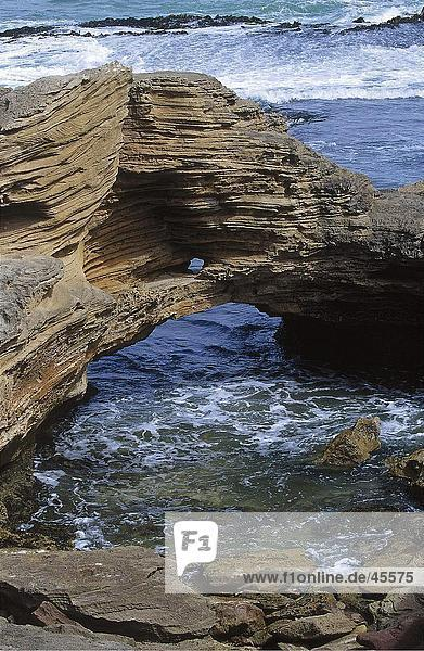 Felsformationen an der K??ste  Warnambool  Australien