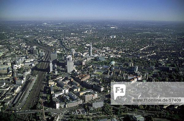 Luftbild von Stadt  Essen  Nordrhein-Westfalen  Deutschland