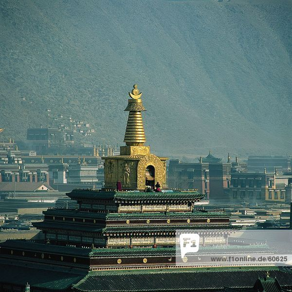 China  Gansu  Labrang Lamasery