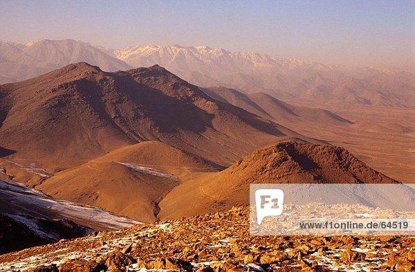 Dunst über Gebirge  Hindukusch-Gebirge  Afghanistan