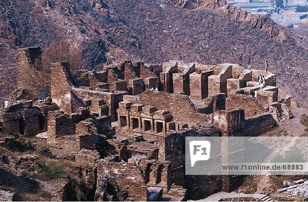 Ruinen des Klosters  Takht Bahai Kloster  Pakistan