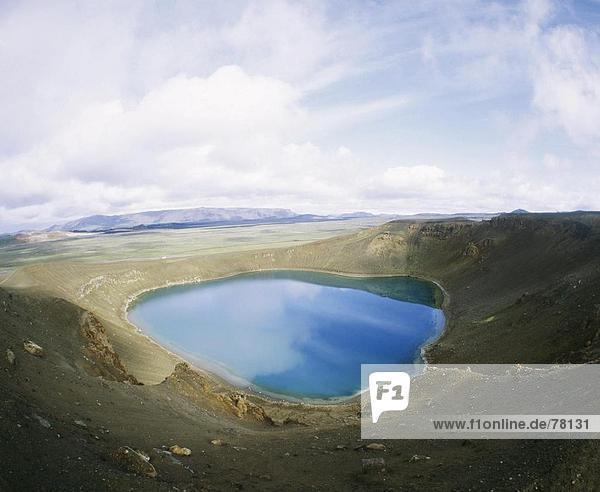 10651083  Island  Krafla  Krater Kratersee  Landschaft  Myvatn  See  Meer  Vulkan  volcanical  Vulkanismus 10651083, Island, Krafla, Krater Kratersee, Landschaft, Myvatn, See, Meer, Vulkan, volcanical, Vulkanismus,