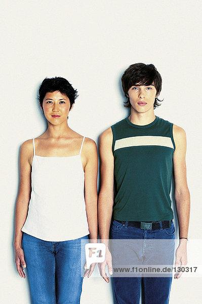Porträt von Mann und Frau