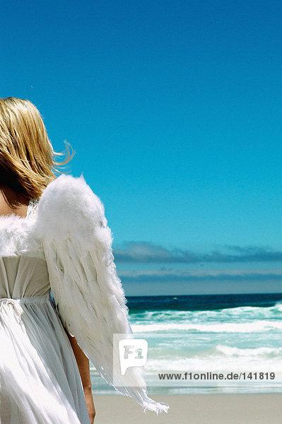 Engel am Strand