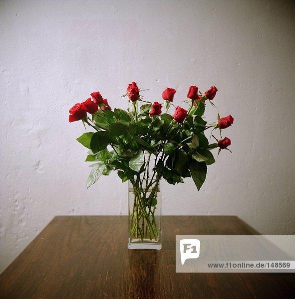 Bündel, Rose, Blumenvase