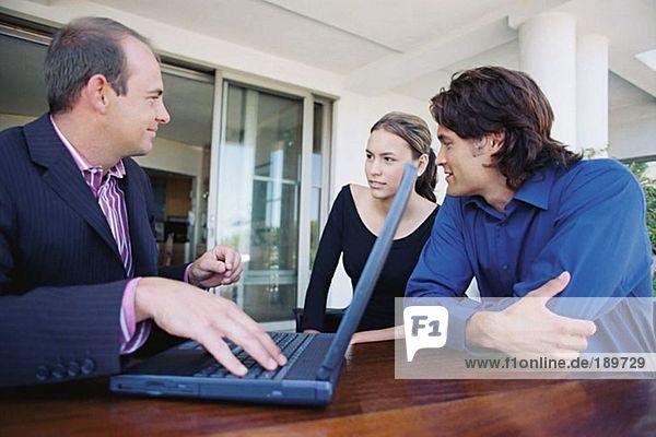 Paarbesprechung Finanzberater