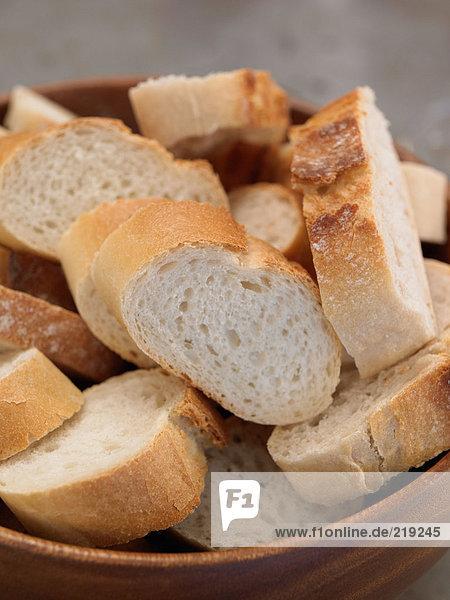 Brot in der Schüssel