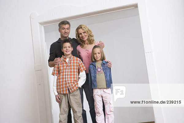 Portrait Menschliche Eltern 2