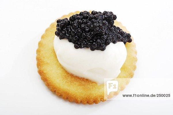 Caviar appetizer