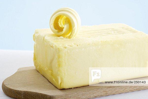 Butterblock,  Nahaufnahme