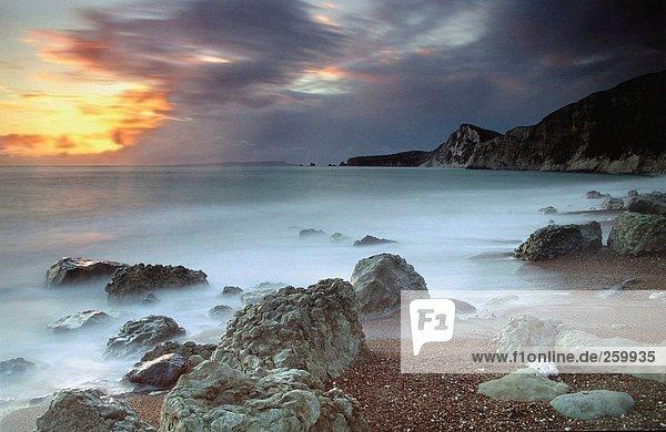 Reisen. Vereinigtes Königreich. England. Dorset. Küste.